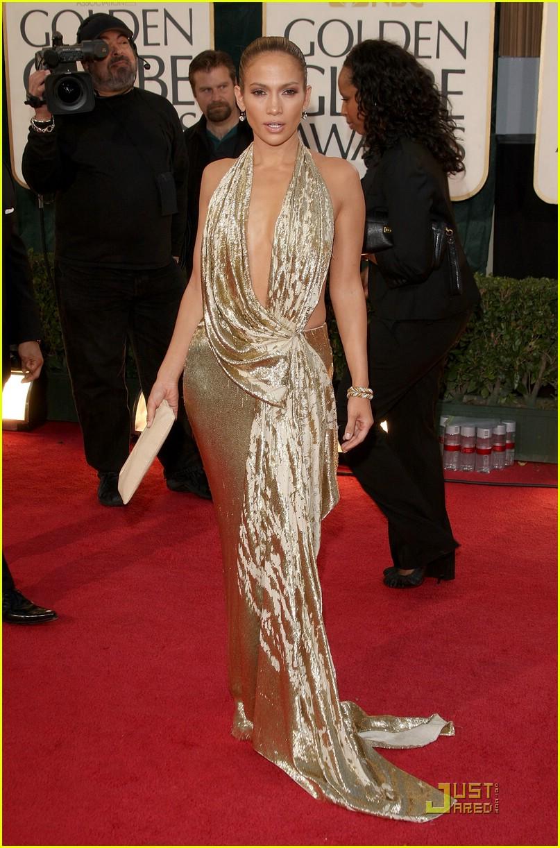 Jennifer Lopez Golden Globes 2009